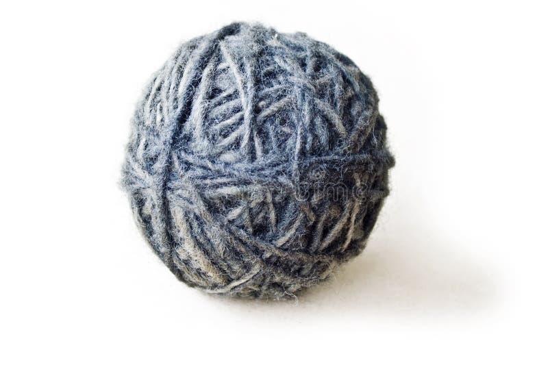 Boule faite de laine à partir des moutons photographie stock libre de droits