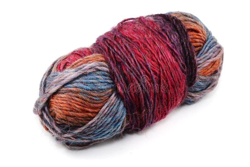 Boule multicolore de laine photos libres de droits