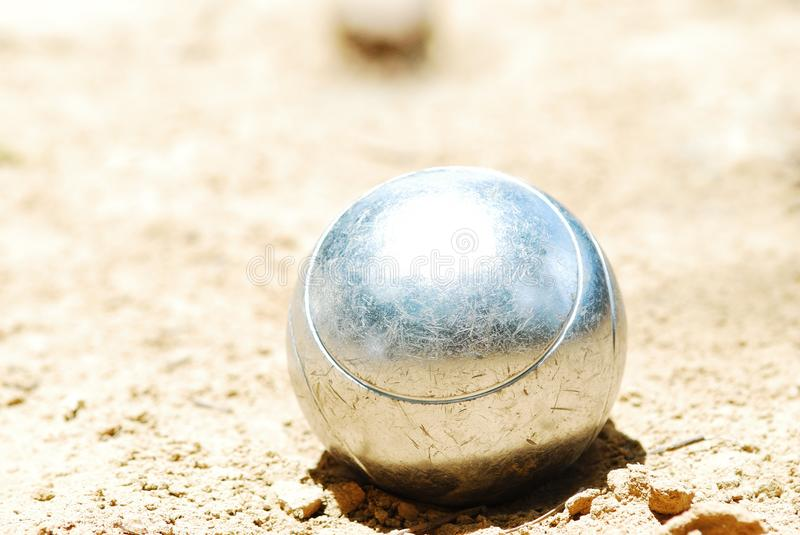 Boules ball royalty free stock images