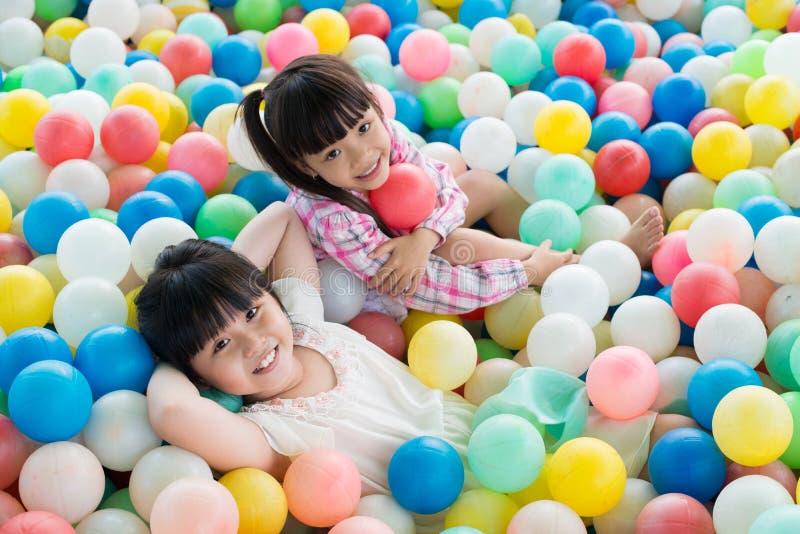 Boules colorées photos libres de droits