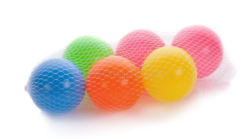 Boules colorées pour que les enfants jouent Jouets pour améliorer des enfants photo stock