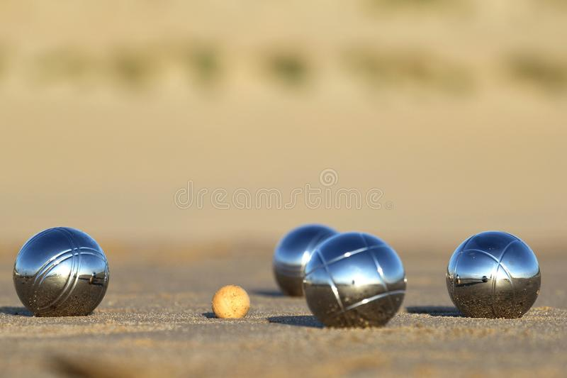Boules de Bocce 01 photo stock
