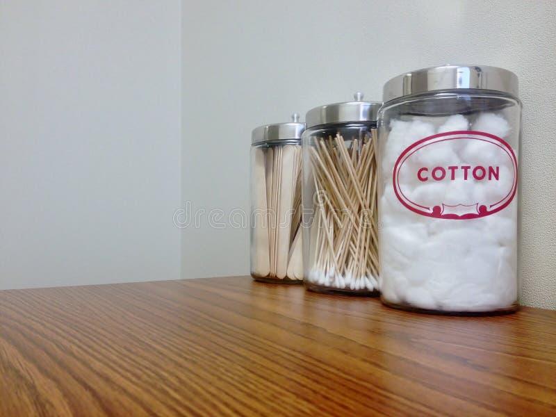 Boules de coton photos stock