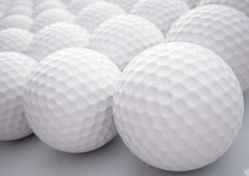 Boules de golf illustration stock