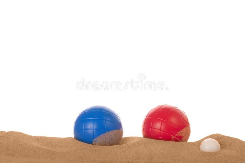 Boules de la playa fotos de archivo libres de regalías