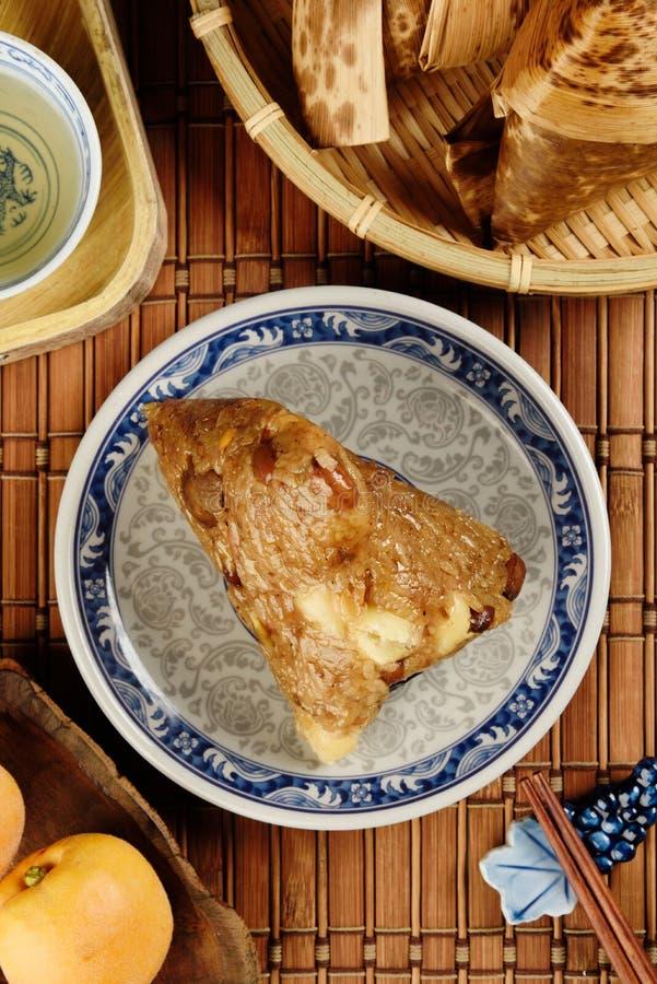 Boulette cuite à la vapeur de riz image stock
