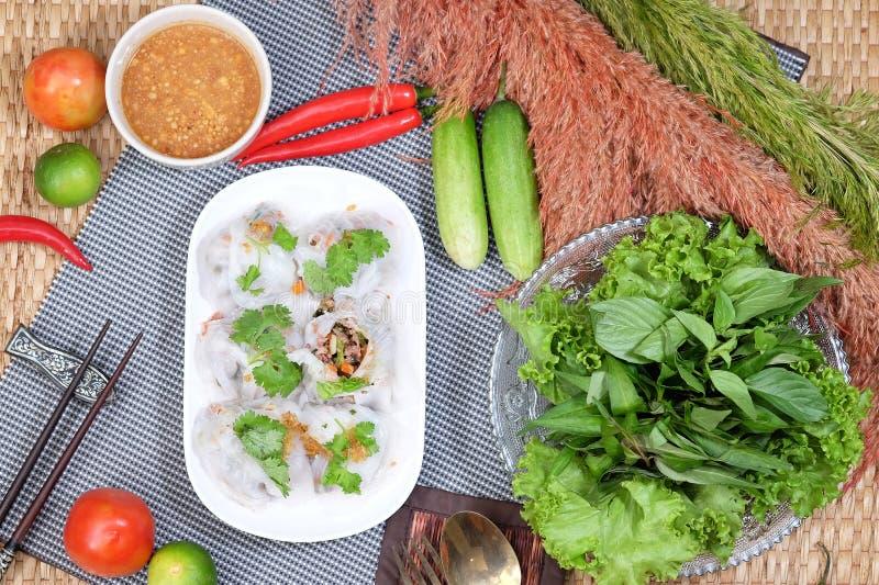 Boulette cuite à la vapeur de tapioca photo libre de droits