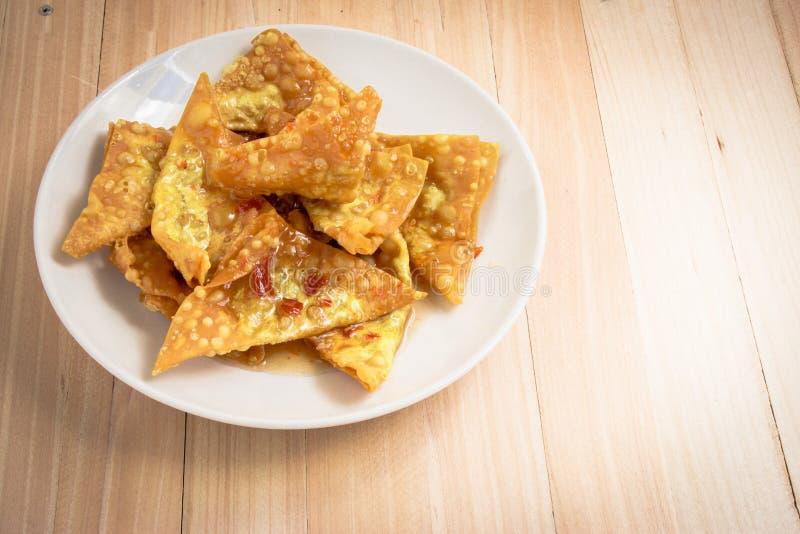 Boulette frite délicieuse croustillante photos libres de droits
