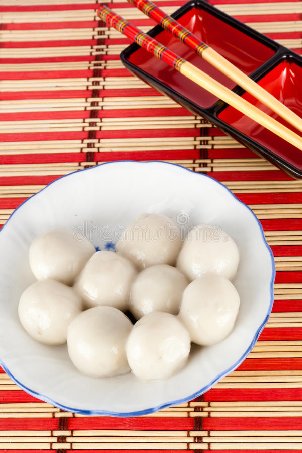 Boulettes douces chinoises photo stock