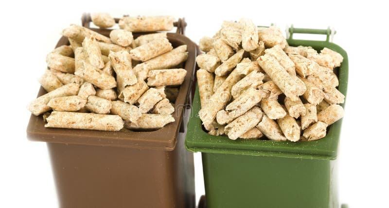 Boulettes en bois photographie stock libre de droits