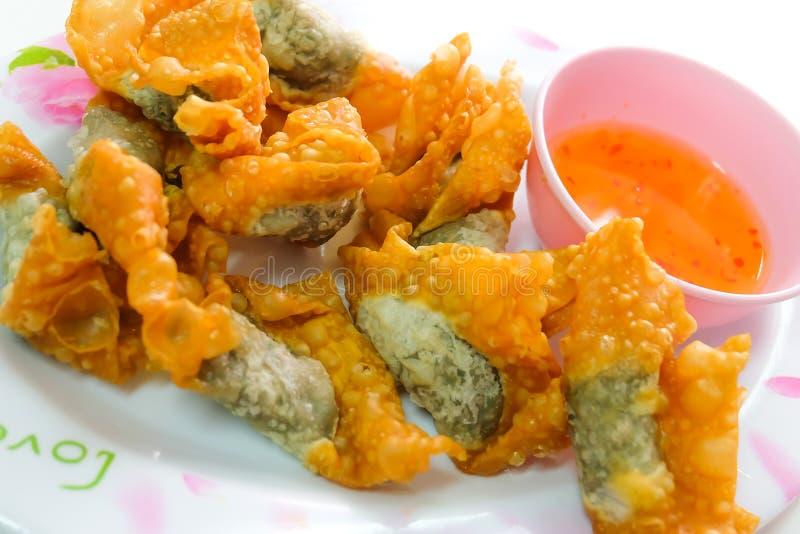 boulettes frites image stock