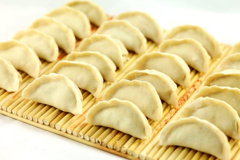 Boulettes, nourriture chinoise. image libre de droits