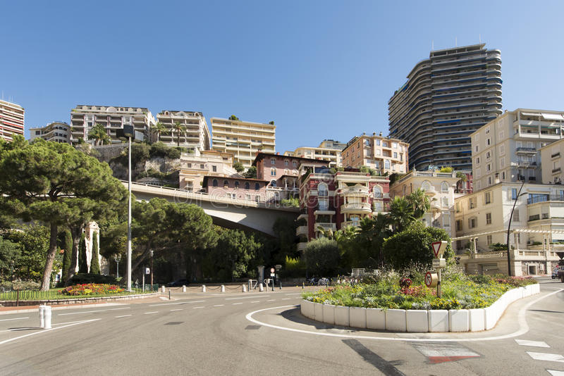 Boulevard Albert 1er, Monaco. Boulevard Albert 1er avenue in Monaco City district, Monaco. Monaco is a sovereign city-state and microstate, located on the stock photos