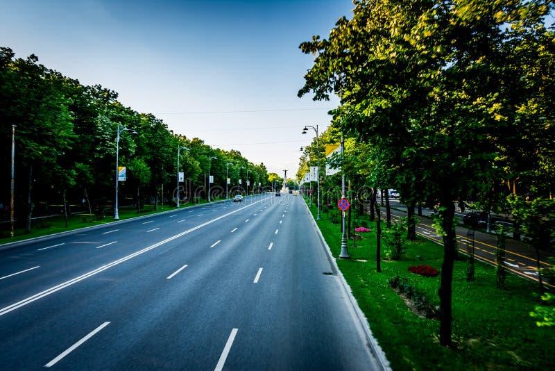 Download Aviatorilor Boulevard editorial stock image. Image of road - 41875504