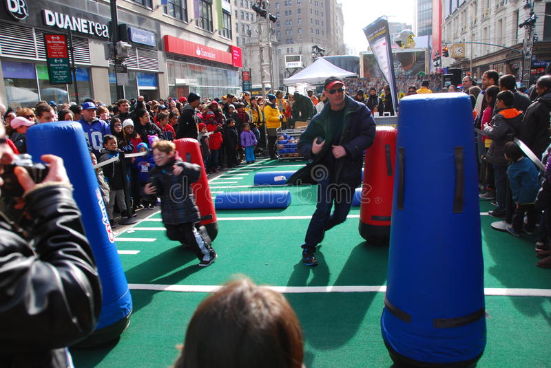 Boulevard de Super Bowl - New York City photos libres de droits