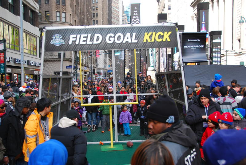 Boulevard di Super Bowl - New York immagine stock