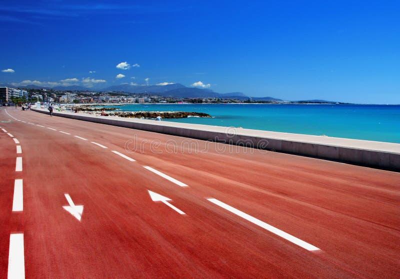 Boulevard méditerranéen image libre de droits