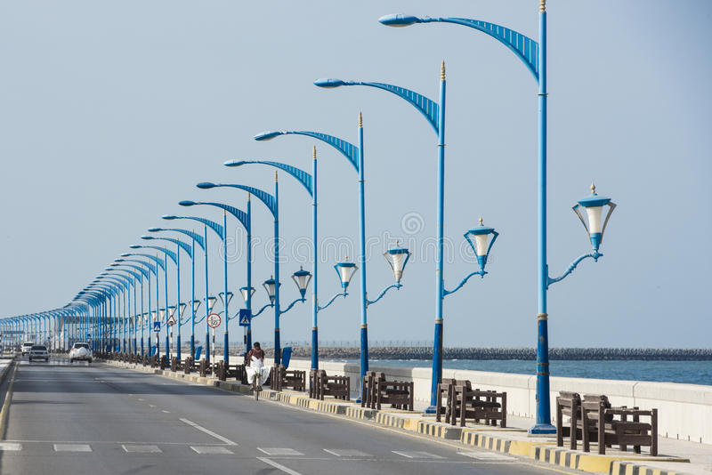 Sohar, Oman stock image