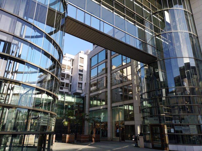 Boulogne Billancourt budynki Zakupy Les Pasages zdjęcia royalty free