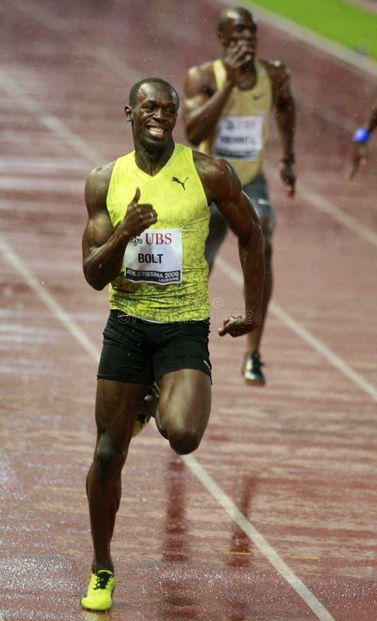 boulon 2009 d'athletissima photographie stock libre de droits