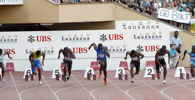 Boulon Usain photos stock