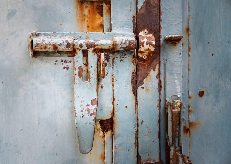 Boulons rouillés à la maison photos libres de droits