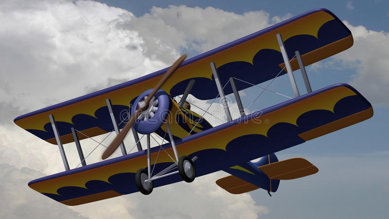 Download Boulton Palson stock illustration. Illustration of aircraft - 18129407