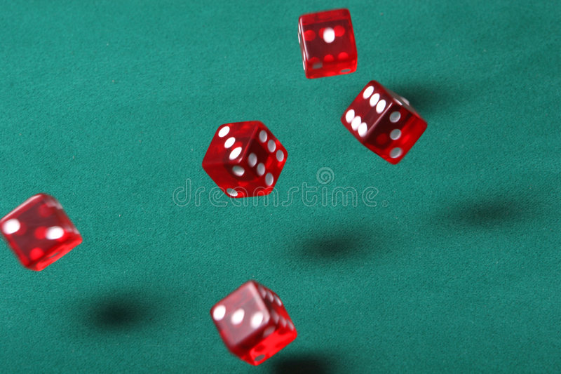 Download Bouncing dice stock image. Image of gamble, chance, dealer - 913589