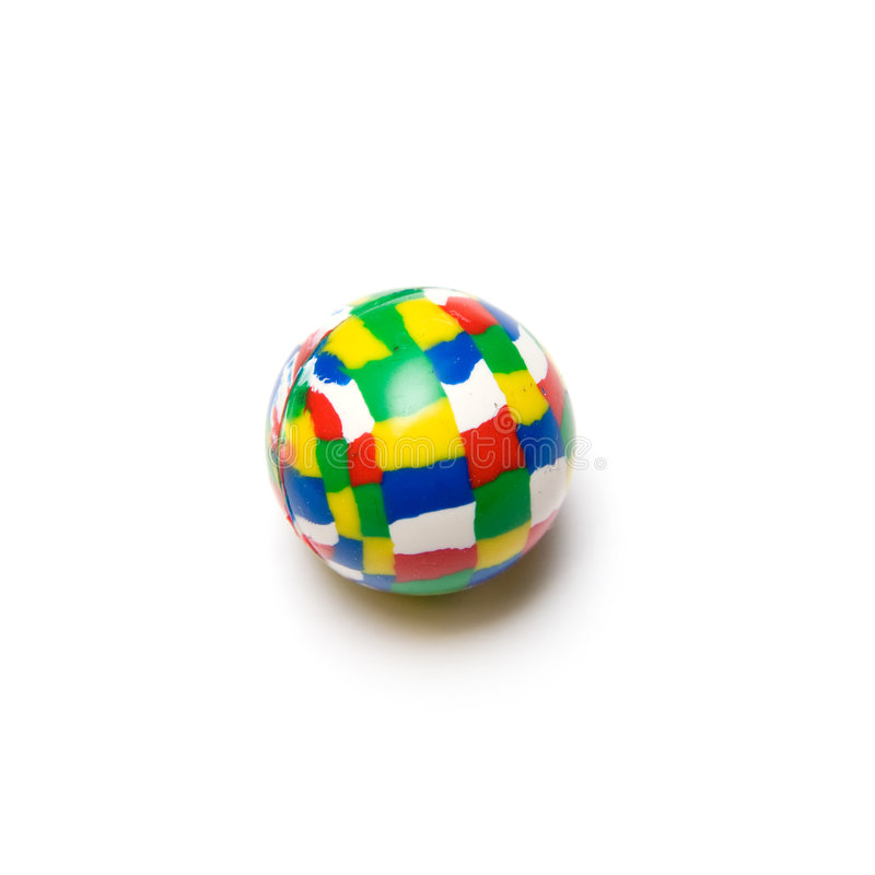 Download Bouncy Ball stock photo. Image of isolated, blue, ball - 7315026