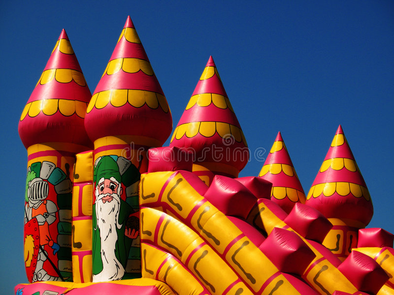 Bouncy Castle stock images