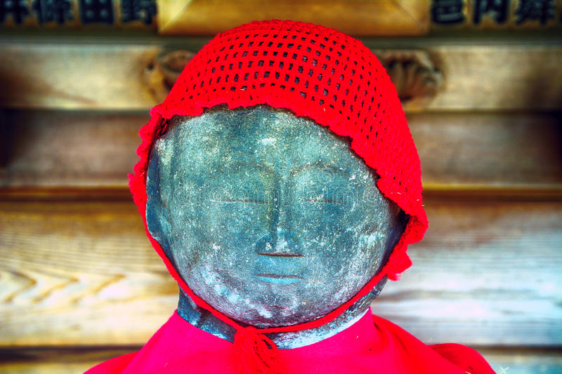 The Bound Jizo in Nanzo-in Buddhist temple, Tokyo, Japan. The Bound Jizo in Nanzo-in Buddhist temple in Tokyo, Japan royalty free stock photography
