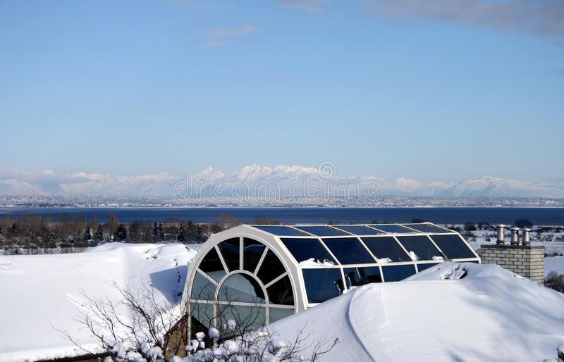 Download Boundary bay BC stock image. Image of glass, south, shore - 13588879