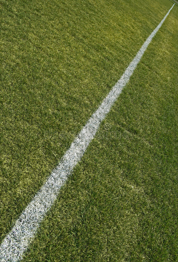 Boundary line of playing field