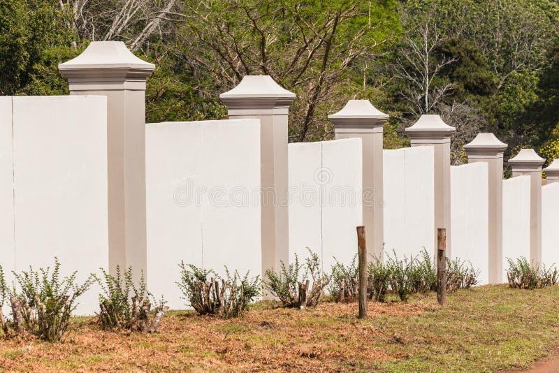 Boundary Wall Trees Stock Photo - Image: 45866293