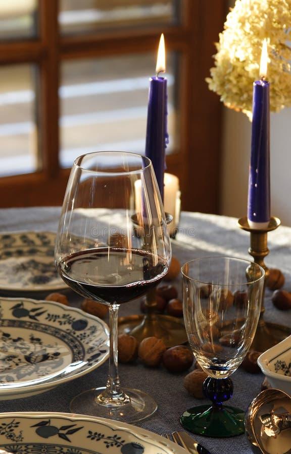 Bountiful table royalty free stock image