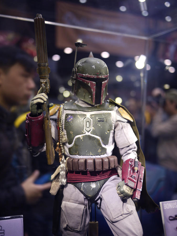Free Bounty Hunter Boba Fett In Star Wars Royalty Free Stock Photography - 48165727