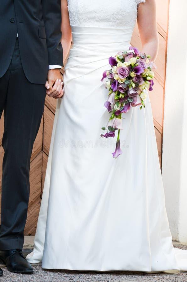 Bouqet för ett bröllop arkivfoton