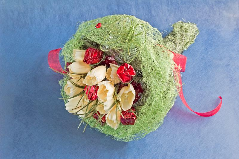 Download Bouquet Of Artificial Flowers Stock Image - Image: 7895879