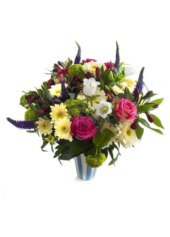 Bouquet avec amour photographie stock libre de droits