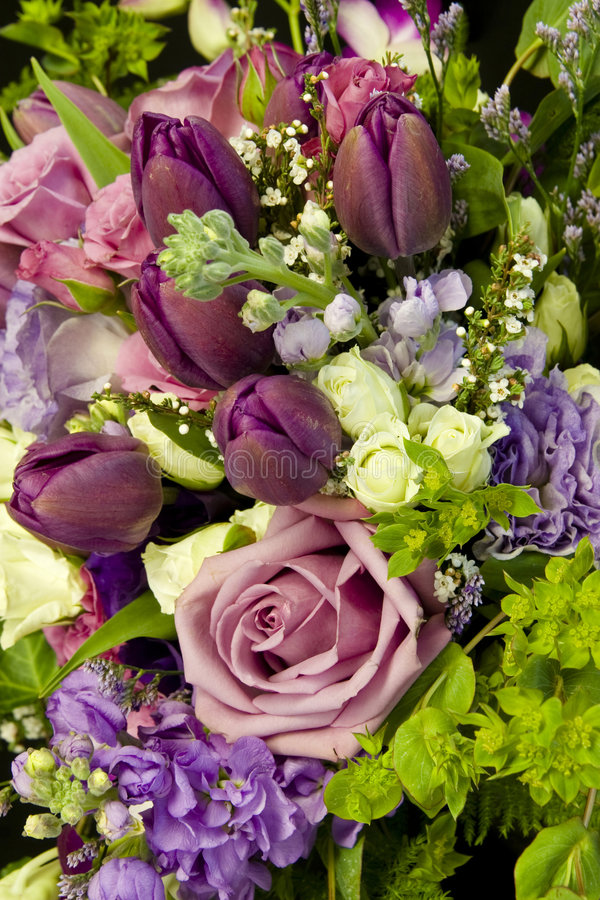 Bouquet background stock images