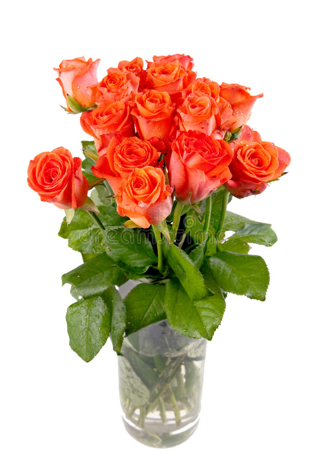 Download Bouquet Of Beautiful Fresh Red Roses Stock Photo - Image: 20060894