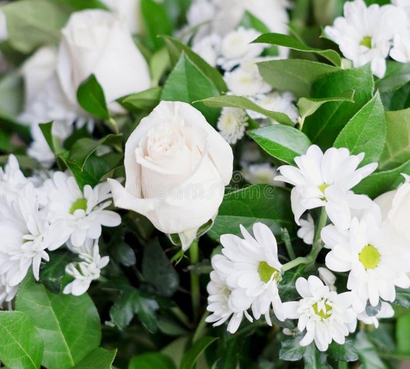 Bouquet blanc images stock