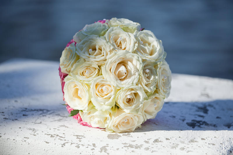 Bouquet of the bride royalty free stock images