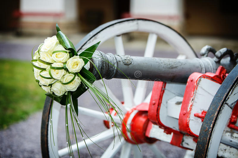 Bouquet of cannon royalty free stock image