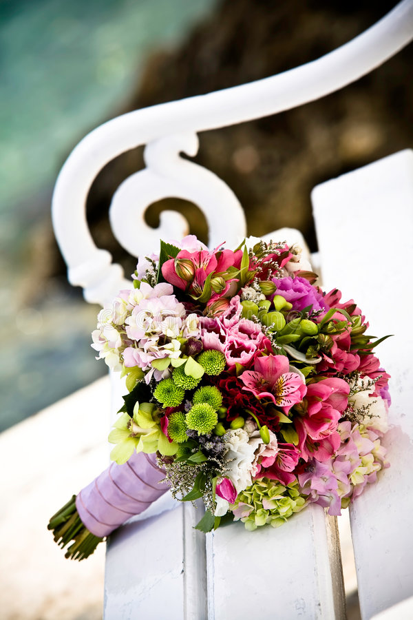 Bouquet coloré images libres de droits