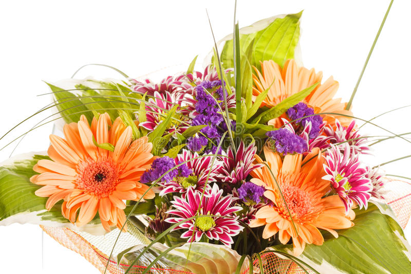 Download Bouquet Of Colorful Flowers Stock Image - Image: 26104773