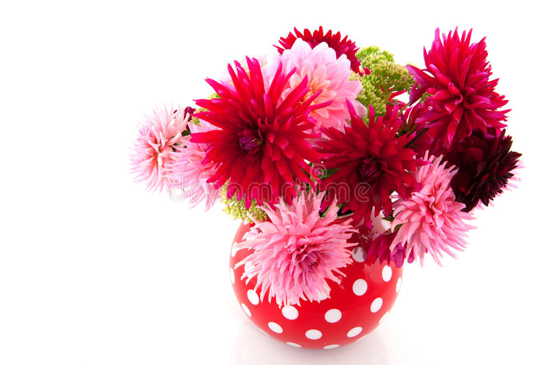 Download Bouquet of Dahlias stock image. Image of spotted, birthday - 10977673