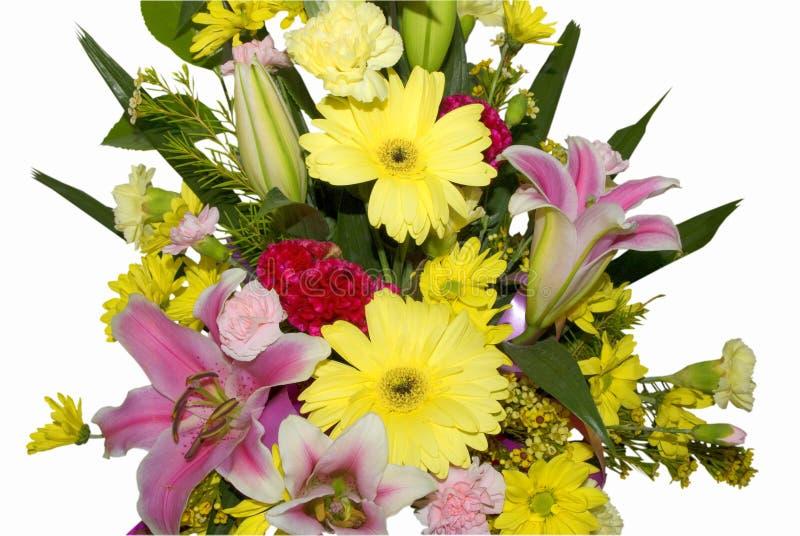 Bouquet de belles fleurs images libres de droits