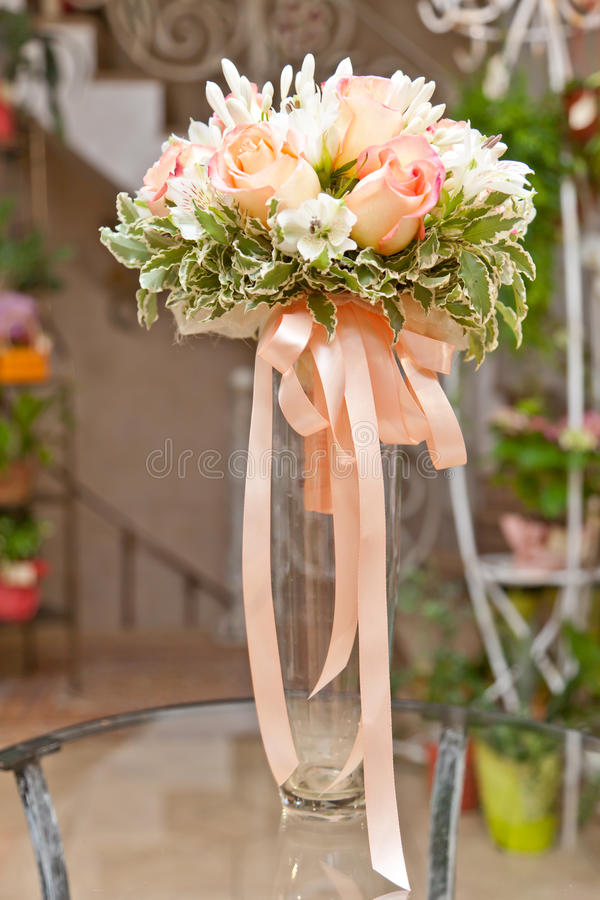 Bouquet de célébration image libre de droits