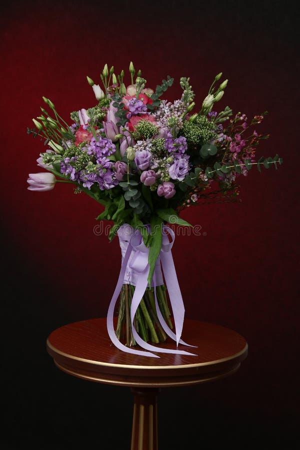 Bouquet de diverses couleurs image libre de droits